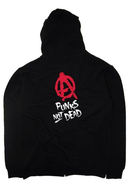 Punks Not Dead mikina Punks Not Dead - Kingshop.cz db8cbd888b